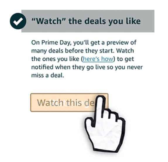 amazon prime day watch deals