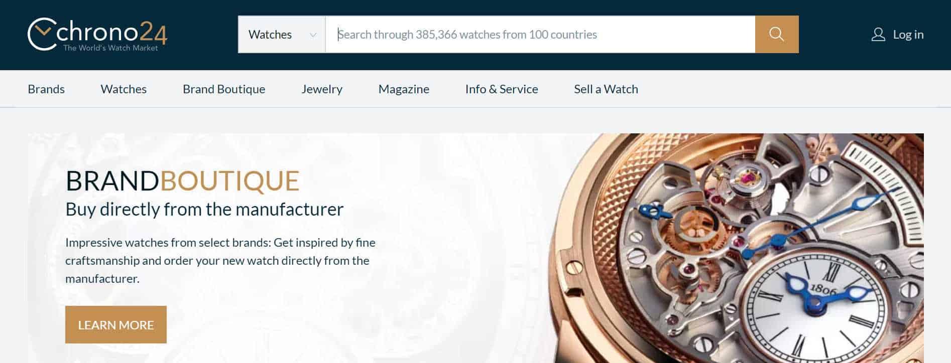 chrono24 luxury watches online