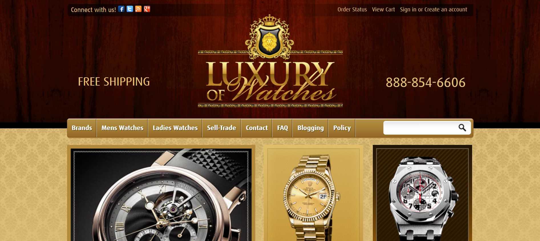 luxuryofwatches online