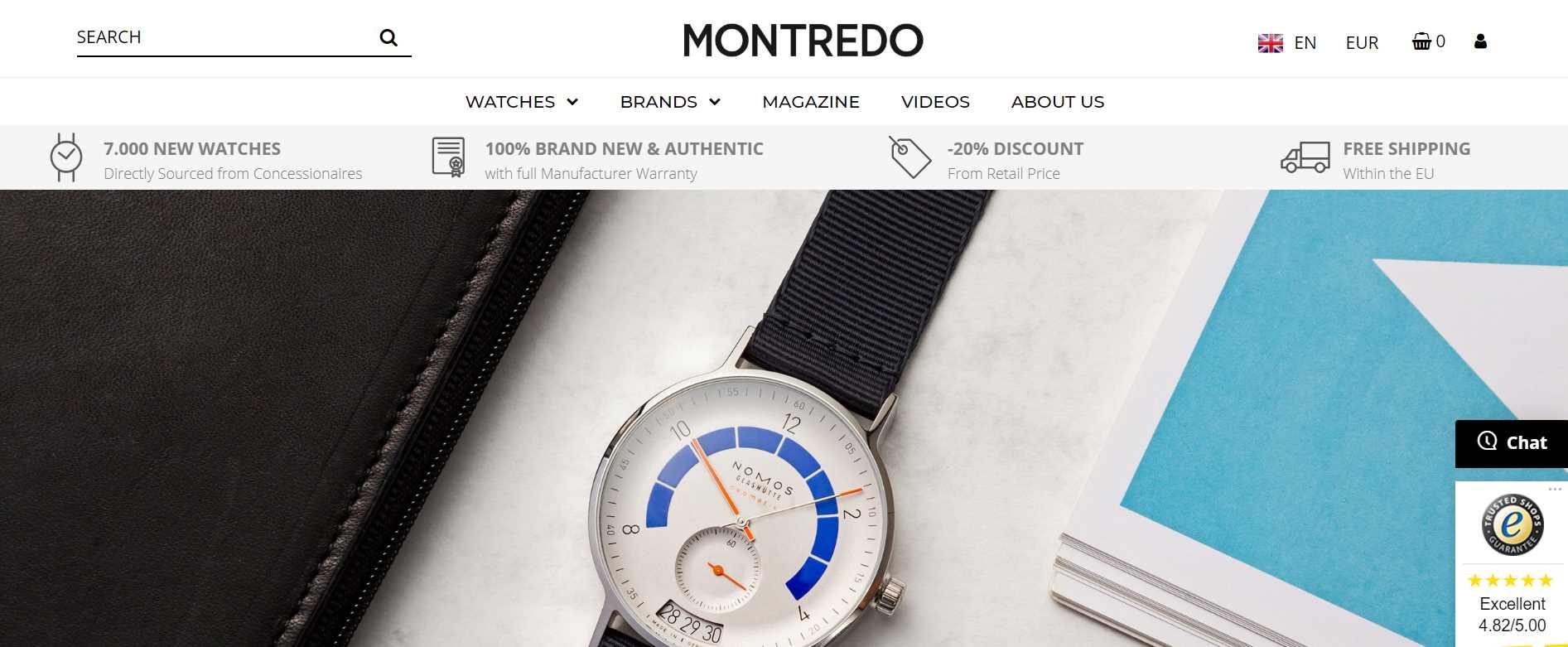 montredo luxury watches online