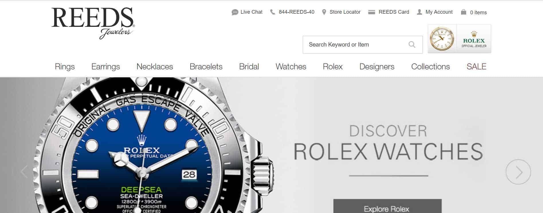 reeds luxury watches online