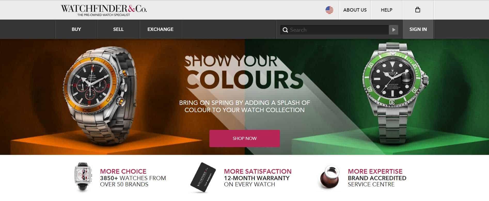 watchinder luxury watches online